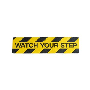 """Watch Your Step"" Anti Slip Stair Tread"