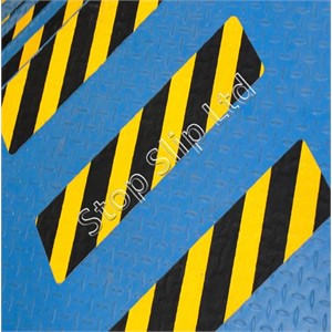 Hazard Black/Yellow Anti Slip Stair Tread