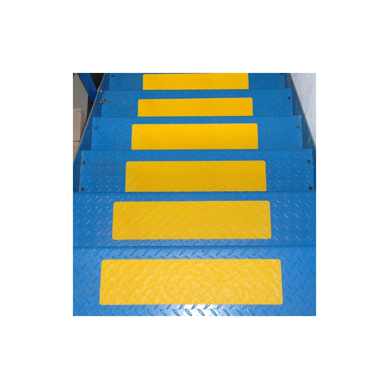 Self Adhesive Conformable Yellow Anti Slip Stair Tread