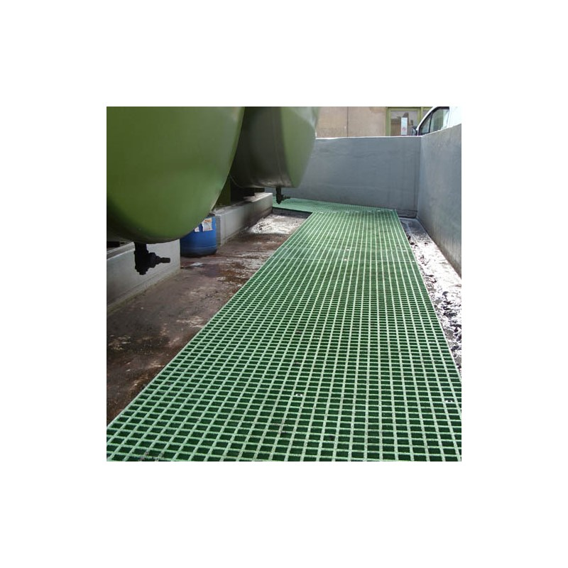 Green Anti Slip Grp Grating