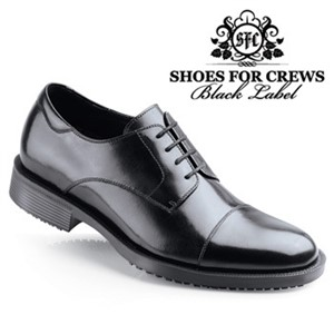 Shoes For Crews Black Senator Shoe for Men (1201)