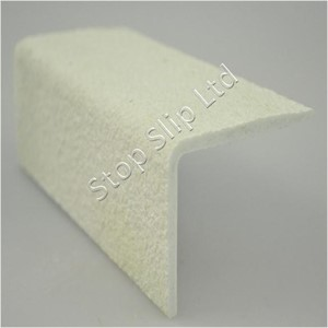 WHITE GRP Anti Slip Stair Nosing