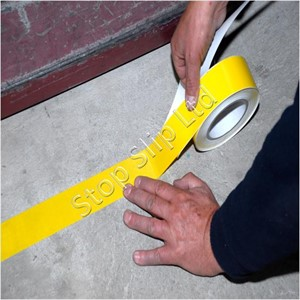 Yellow Permastripe Aisle Marking Tape