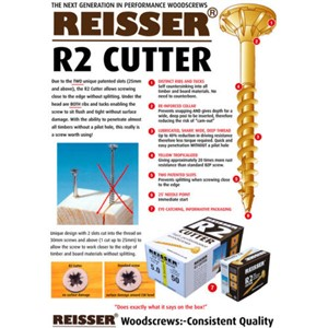 Reisser Self Drilling Screws X100 Ideal For Decking Strips