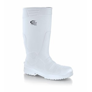 Shoes For Crews Sentinel PU White (Dairy) Steel Toe Boots (2010)