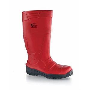 Shoes For Crews Sentinel PU Red (Meat) Steel Toe Boots (2013)