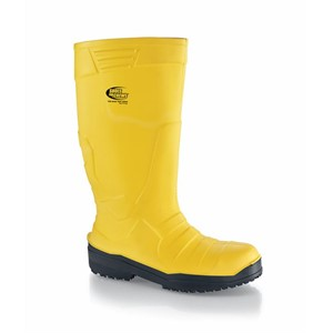 Shoes For Crews Sentinel PU Yellow (Poultry) Steel Toe Boots (2014)