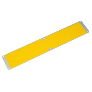 SS#750 Screw Down Yellow Aluminium Stair Tread