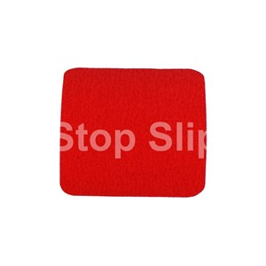 Red Anti-Slip Squares SS#100 Standard Grade Pack of 10