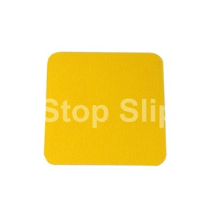 Yellow Anti-Slip Squares SS#100 Standard Grade Pack of 10