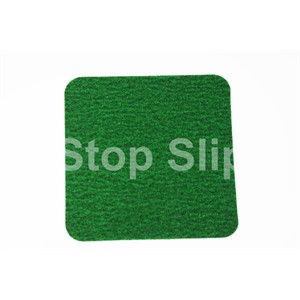Green Anti-Slip Squares SS#100 Standard Grade Pack of 10