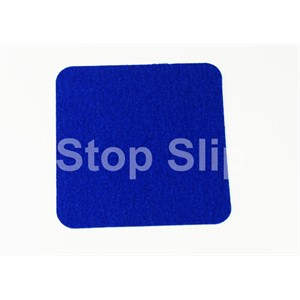 Blue Anti-Slip Squares SS#100 Standard Grade Pack of 10