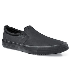 Shoes For Crews Black Ollie II Shoes For Men (34257)