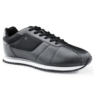 Shoes For Crews Wes Black Shoe for Men (39204)