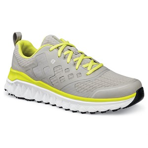 Shoes For Crews Bridgetown Grey/Citrus Shoe for Men (24320)