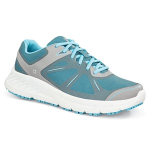 Shoes For Crews Vitality II Grey/Blue Shoe for Women (24759)