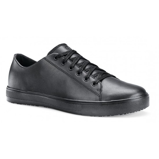 a10b3f9b891 Shoes For Crews Old School Low Rider IV Black Shoe for Men (36111)