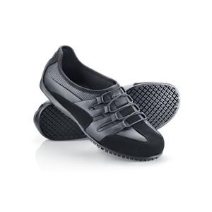 Shoes For Crews Freestyle Men's Black Slip Resistant Trainers, Style Shoes For Crews Freestyle Men's Black Slip Resistant Trainers, Style